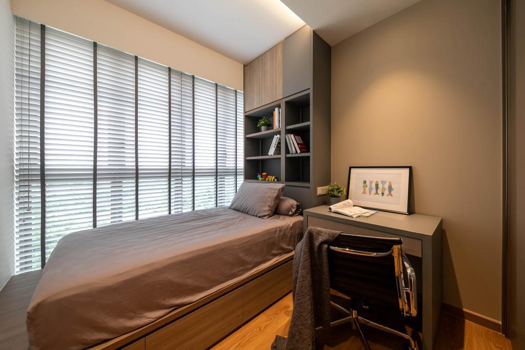 Modern, Condo, Bedroom, Rivercove Residences, Interior Designer, Space Atelier, Eclectic