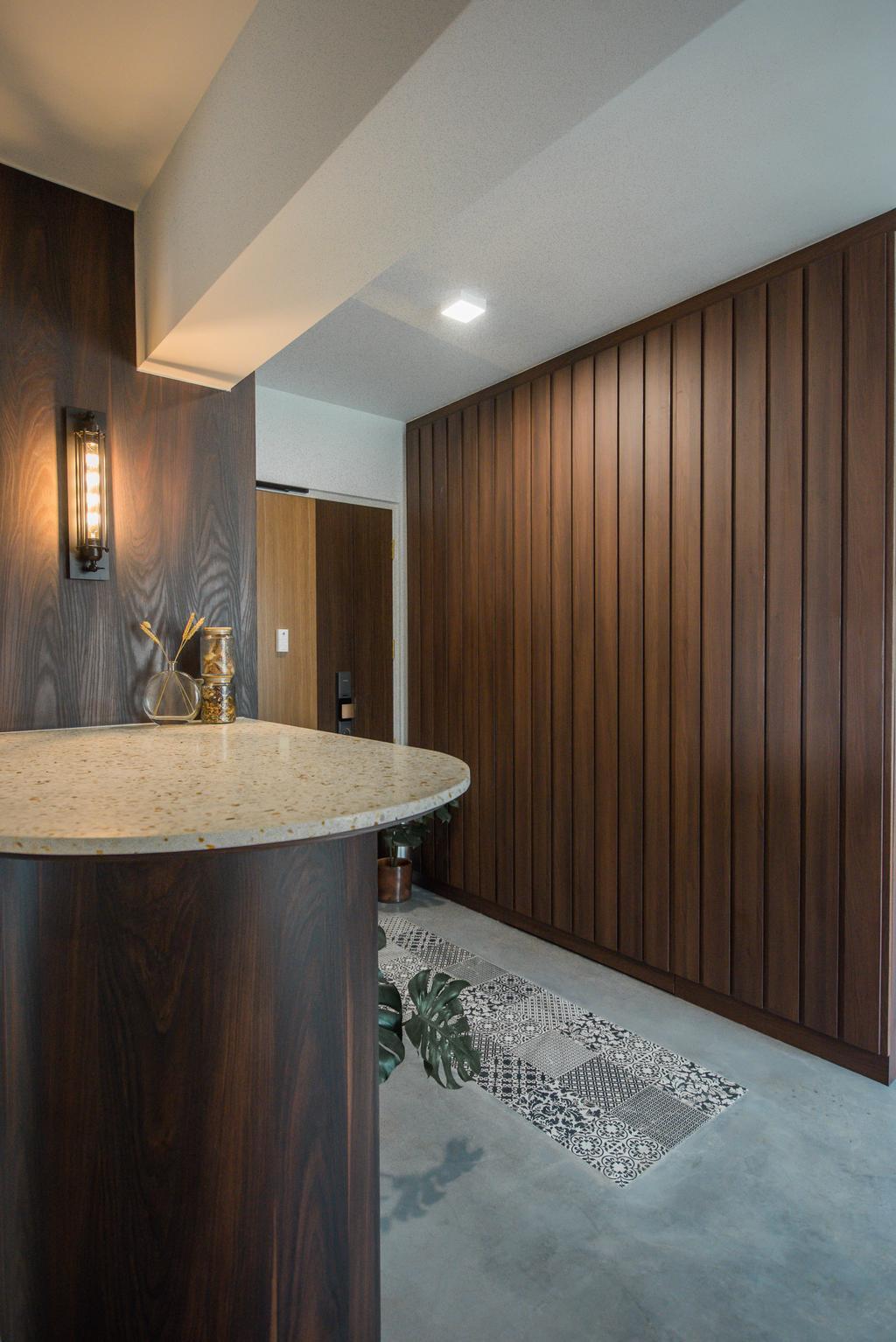 Contemporary, HDB, Living Room, Bedok North, Interior Designer, Third Paragraph, Industrial