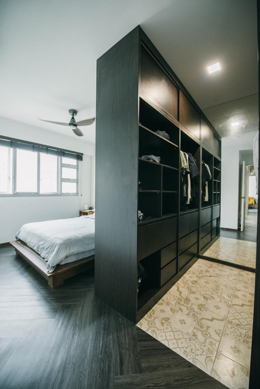 Contemporary, HDB, Bedroom, Bedok North, Interior Designer, Third Paragraph, Industrial