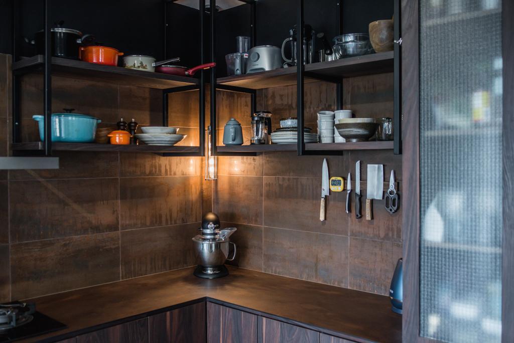 Contemporary, HDB, Kitchen, Bedok North, Interior Designer, Third Paragraph, Industrial