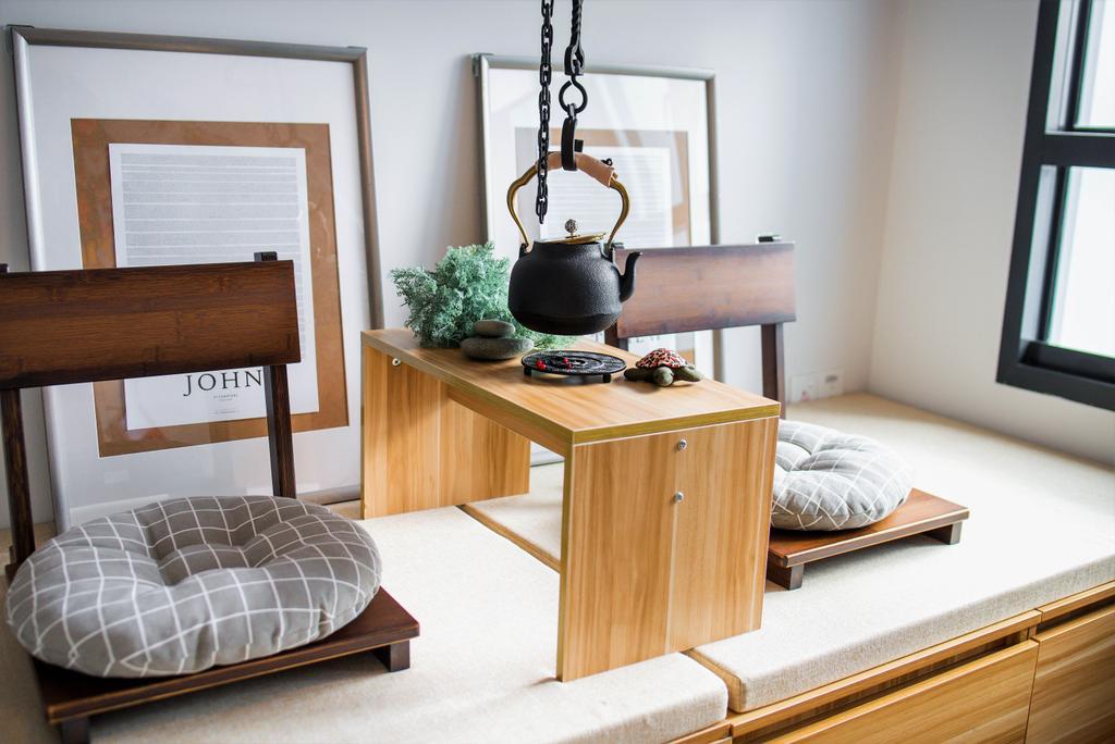 Modern, HDB, Living Room, Bidadari Park Drive, Interior Designer, Third Paragraph, Scandinavian
