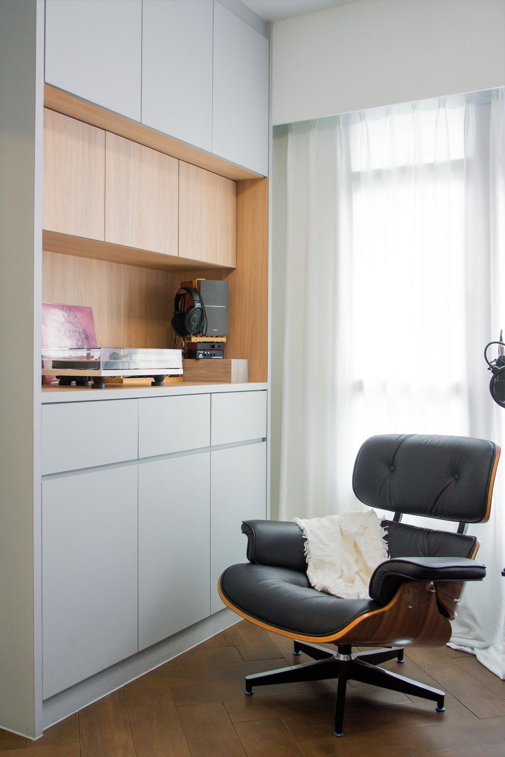 Modern, HDB, Study, Bidadari Park Drive, Interior Designer, Third Paragraph, Scandinavian