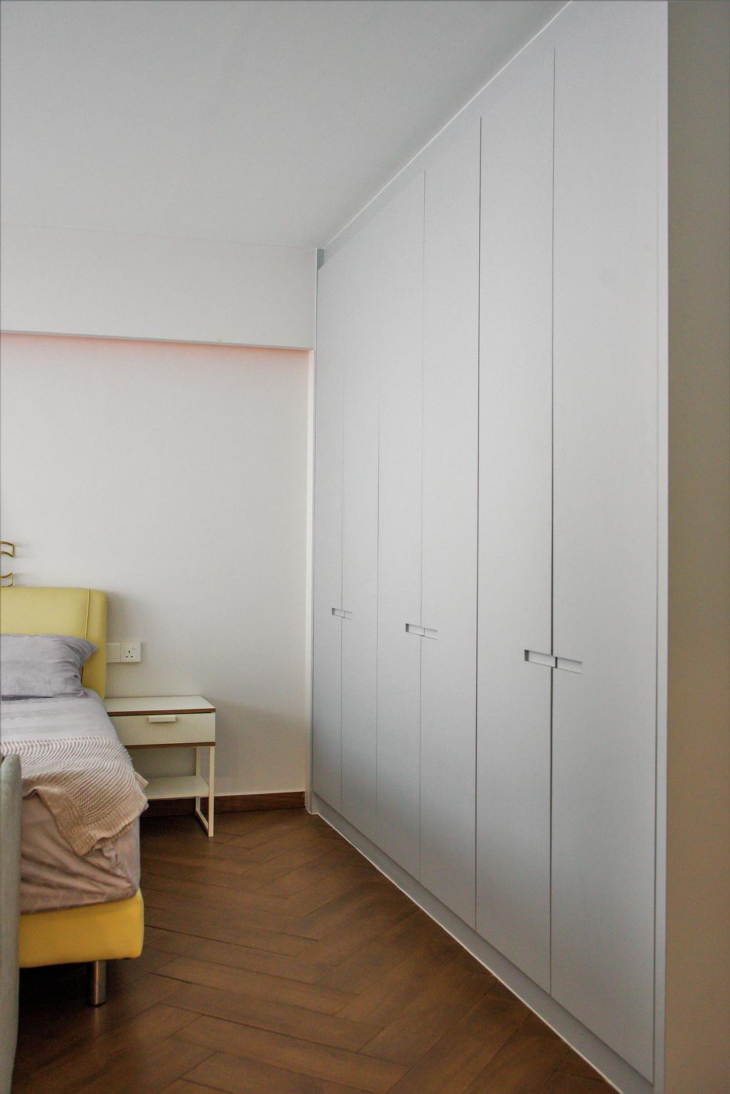 Modern, HDB, Bedroom, Bidadari Park Drive, Interior Designer, Third Paragraph, Scandinavian