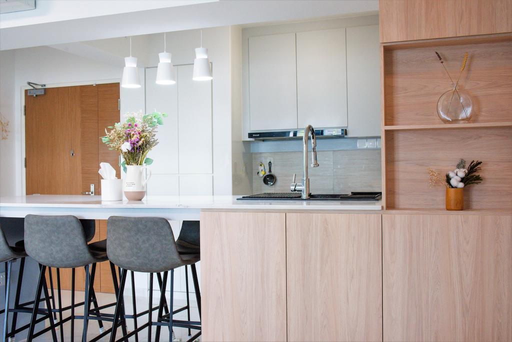 Modern, HDB, Dining Room, Bidadari Park Drive, Interior Designer, Third Paragraph, Scandinavian