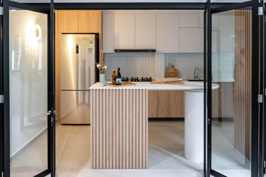 Scandinavian, HDB, Kitchen, Ang Mo Kio Avenue 1, Interior Designer, Insight.Out Studio, Minimalistic