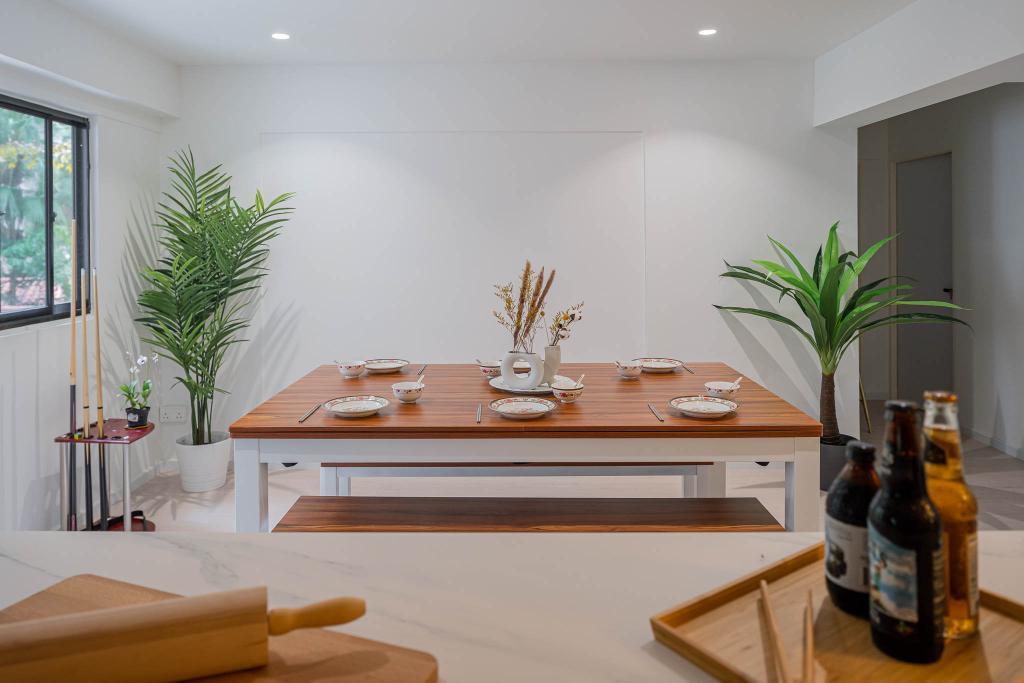 Scandinavian, HDB, Dining Room, Ang Mo Kio Avenue 1, Interior Designer, Insight.Out Studio, Minimalistic