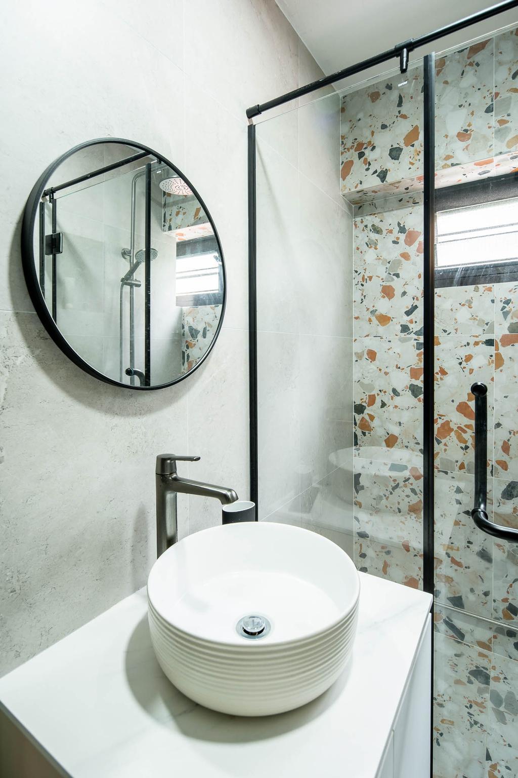 Scandinavian, HDB, Bathroom, Ang Mo Kio Avenue 1, Interior Designer, Insight.Out Studio, Minimalistic