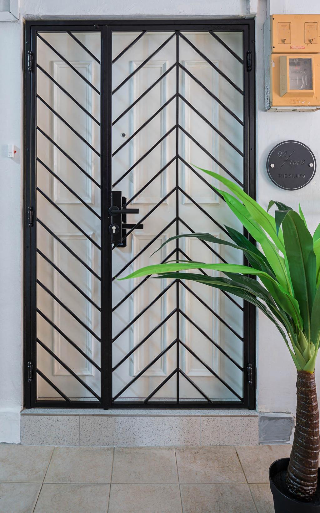 Scandinavian, HDB, Ang Mo Kio Avenue 1, Interior Designer, Insight.Out Studio, Minimalistic, Gate, Entrance