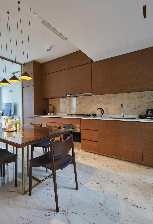 Modern, Condo, Kitchen, Queens Peak, Interior Designer, The Interior Lab, Contemporary