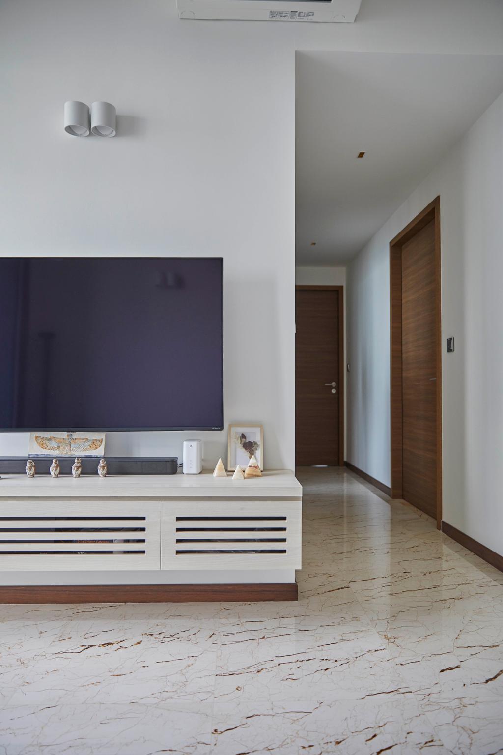 Modern, Condo, Living Room, Queens Peak, Interior Designer, The Interior Lab, Contemporary
