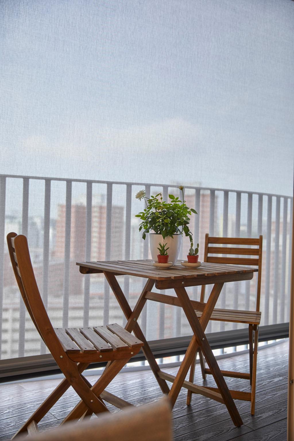 Modern, Condo, Balcony, Queens Peak, Interior Designer, The Interior Lab, Contemporary