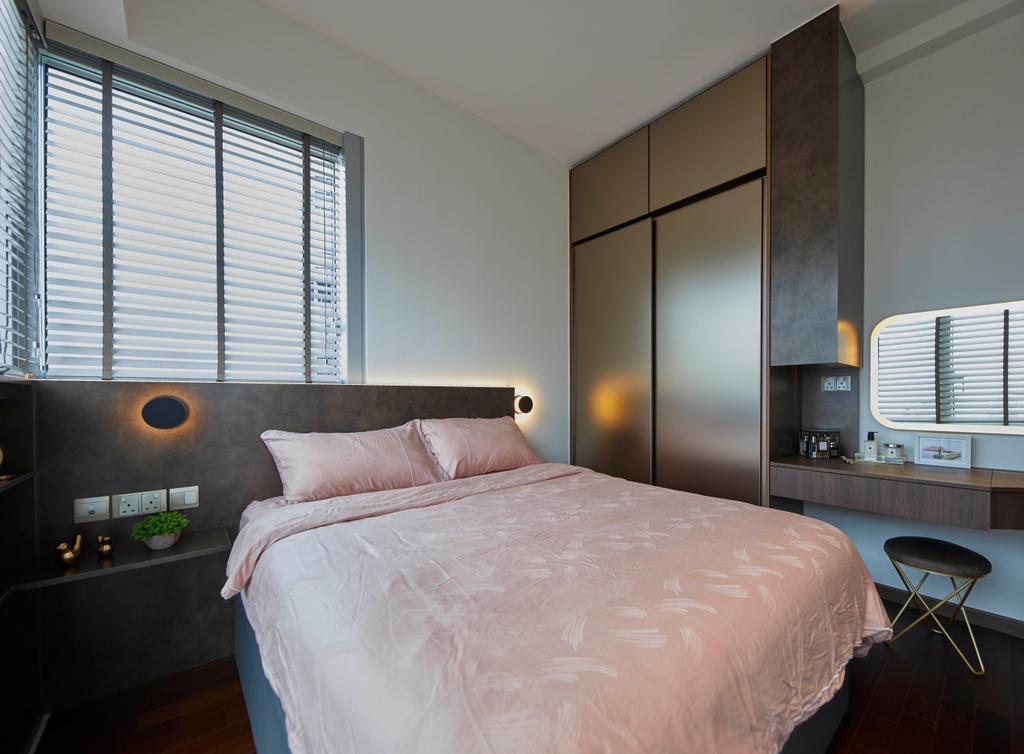 Modern, Condo, Bedroom, Queens Peak, Interior Designer, The Interior Lab, Contemporary