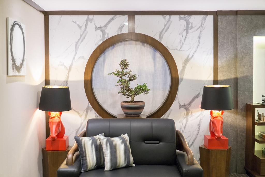 One Roof Director Room, Commercial, Interior Designer, Red Land Design