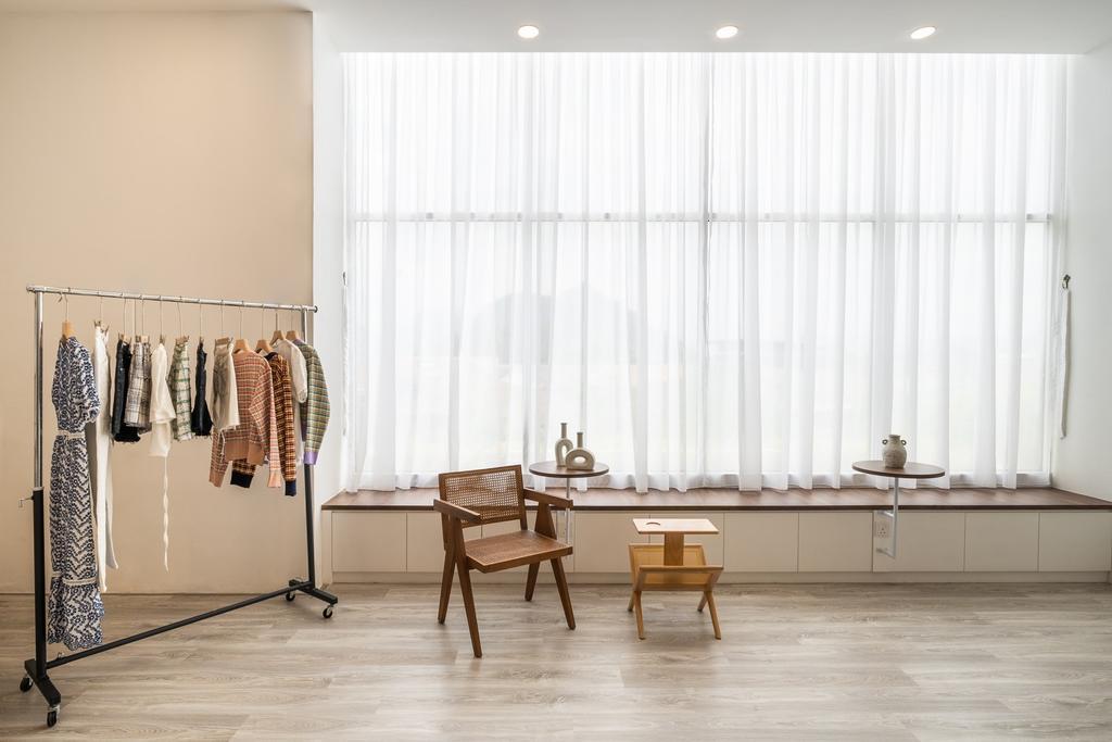 Fashion Boutique, Commercial, Interior Designer, Red Land Design