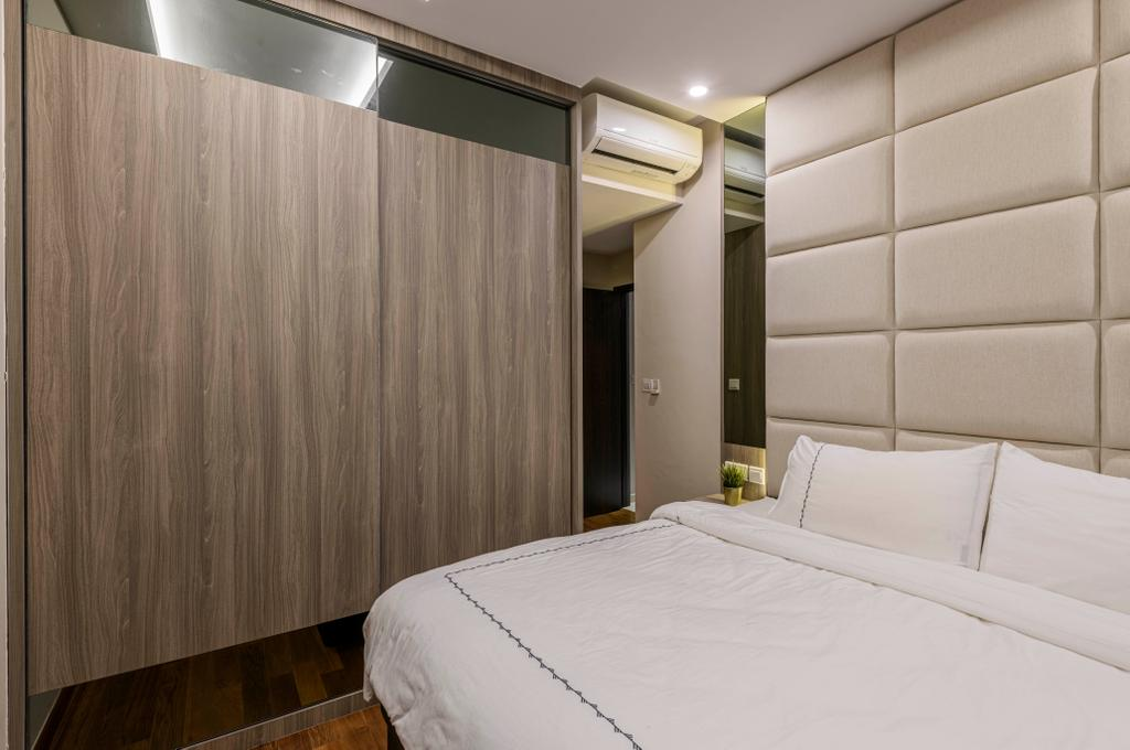 Modern, Condo, Bedroom, Coastal View Residences, Interior Designer, Ovon Design
