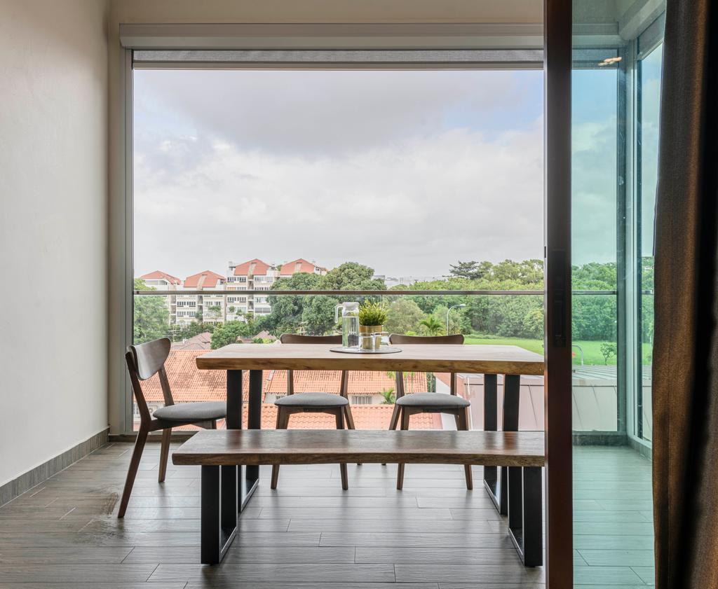 Modern, Condo, Balcony, Coastal View Residences, Interior Designer, Ovon Design
