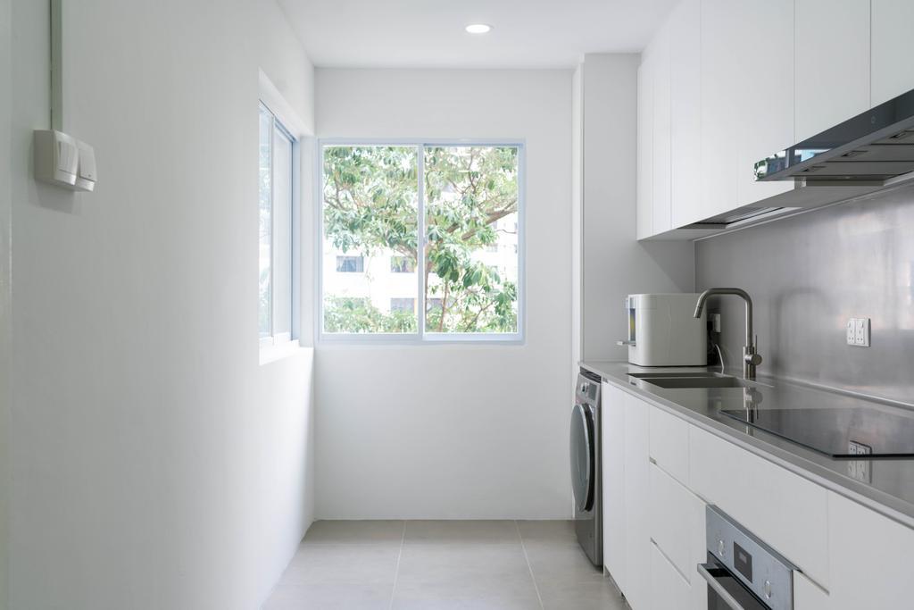 Scandinavian, HDB, Kitchen, Ang Mo Kio Street 32, Interior Designer, Toke & Chen