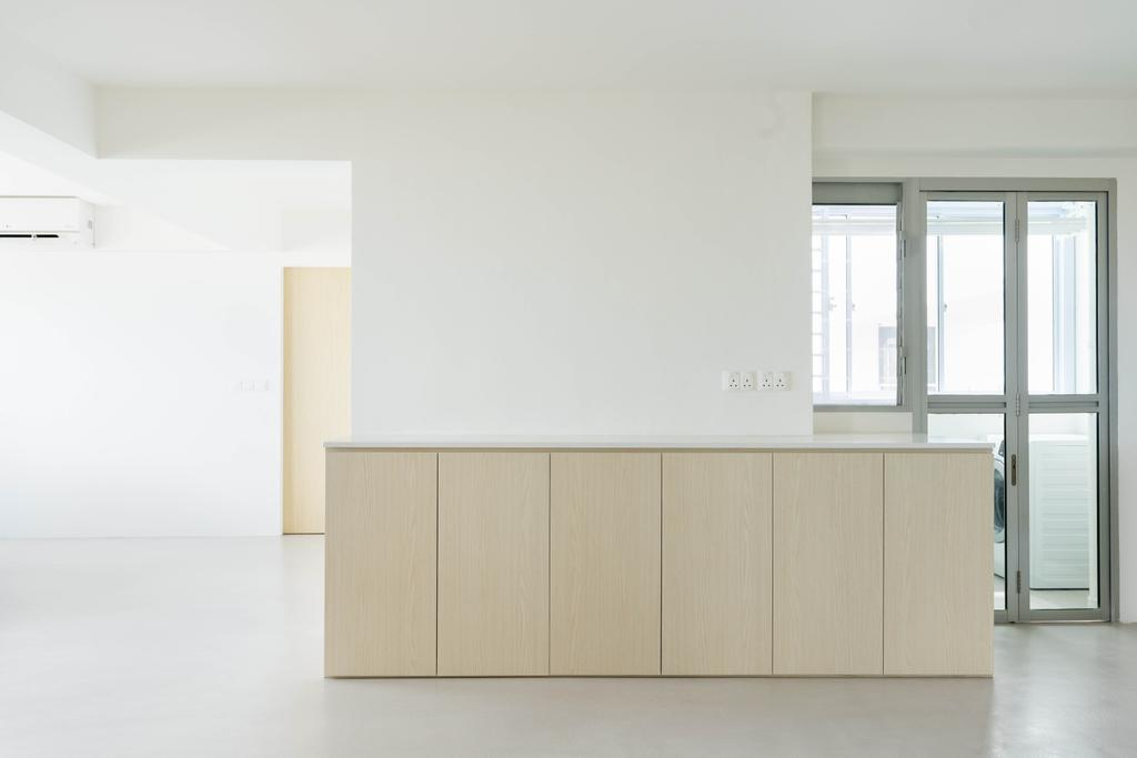 Minimalistic, HDB, Kitchen, Ang Mo Kio Street 51, Interior Designer, Toke & Chen, Scandinavian