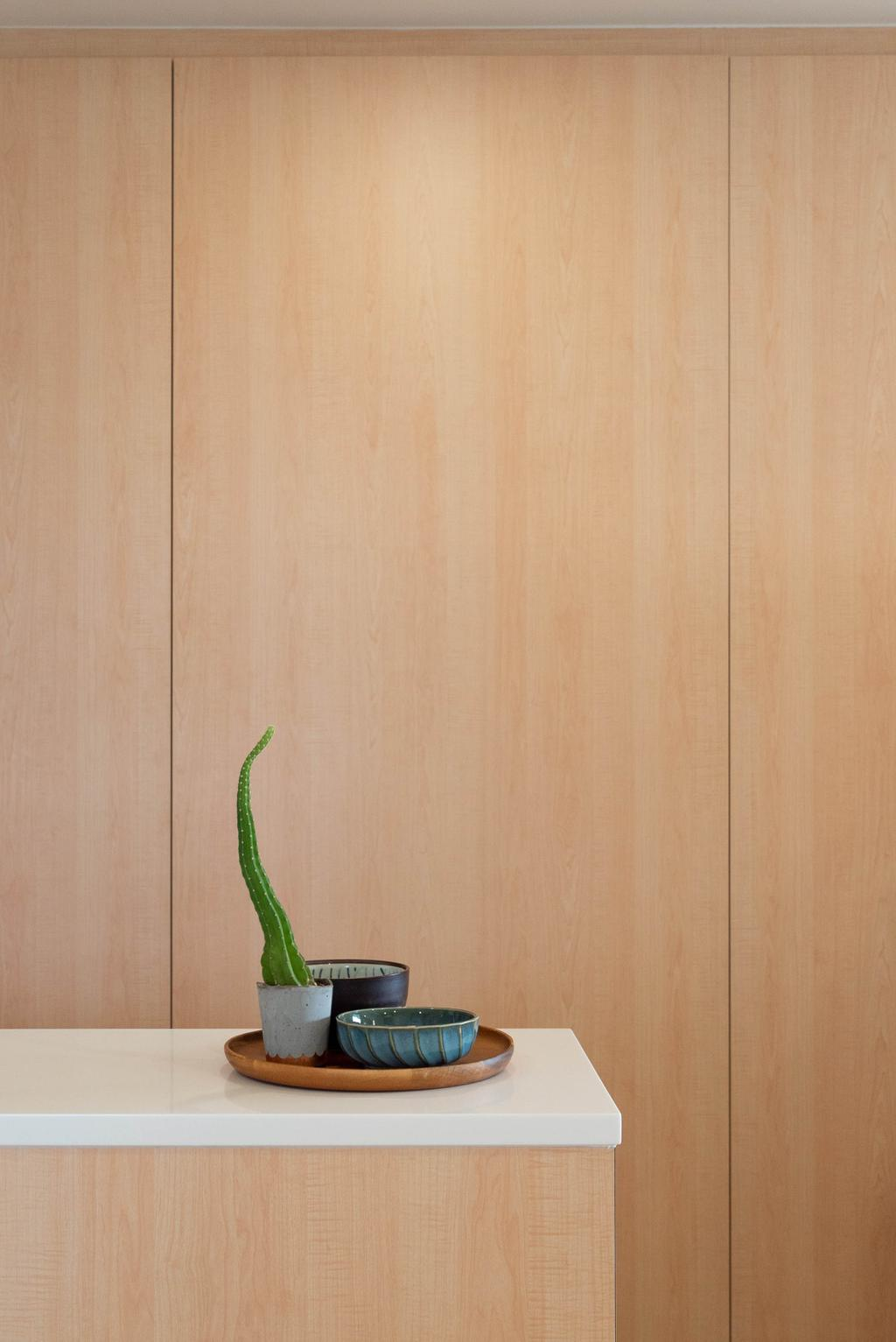 Minimalistic, HDB, Living Room, Buangkok Crescent, Interior Designer, Toke & Chen, Scandinavian