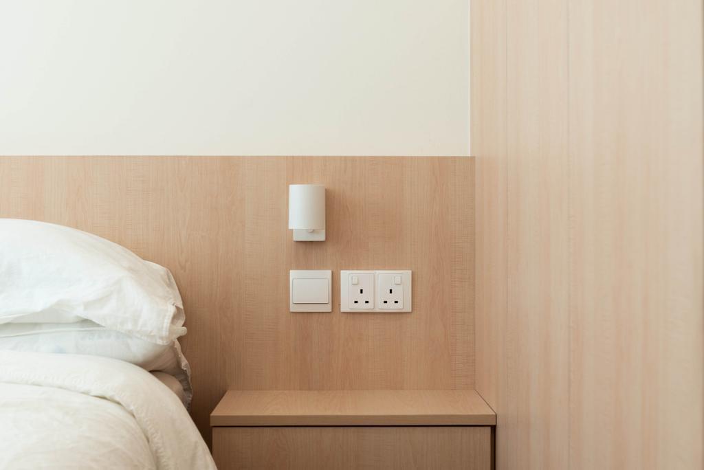 Minimalistic, HDB, Bedroom, Buangkok Crescent, Interior Designer, Toke & Chen, Scandinavian