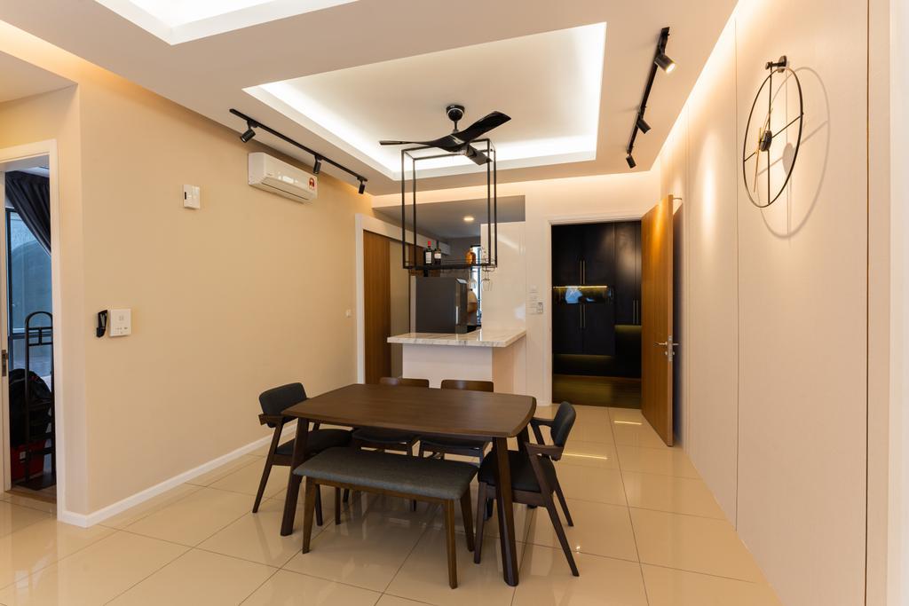 Contemporary, Condo, Anjali North Kiara, Kuala Lumpur, Interior Designer, MKR Studio Sdn. Bhd.
