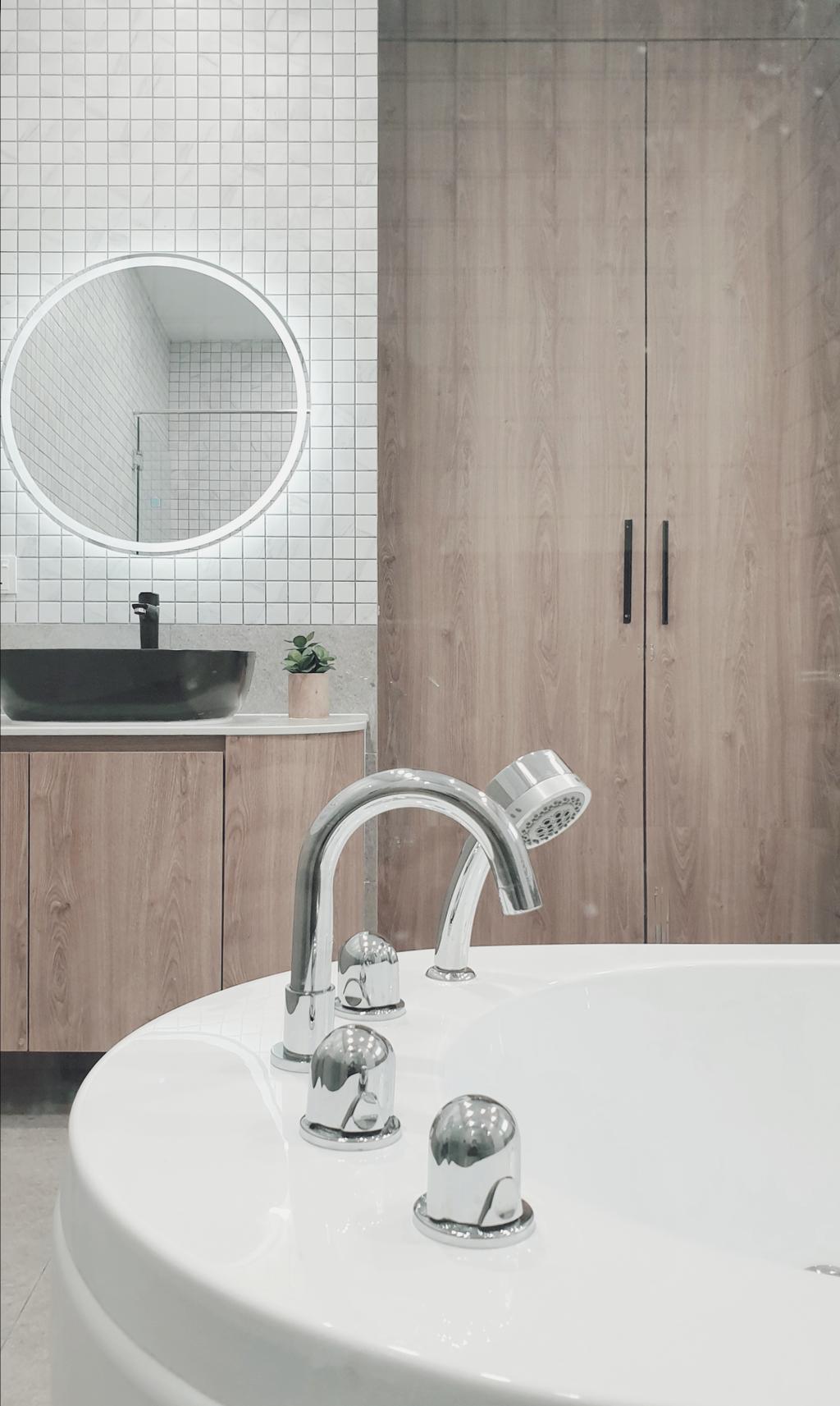 Modern, Landed, Bathroom, Sierra 6, 16 Sierra, Interior Designer, Josh Thompson Interiors, Minimalistic