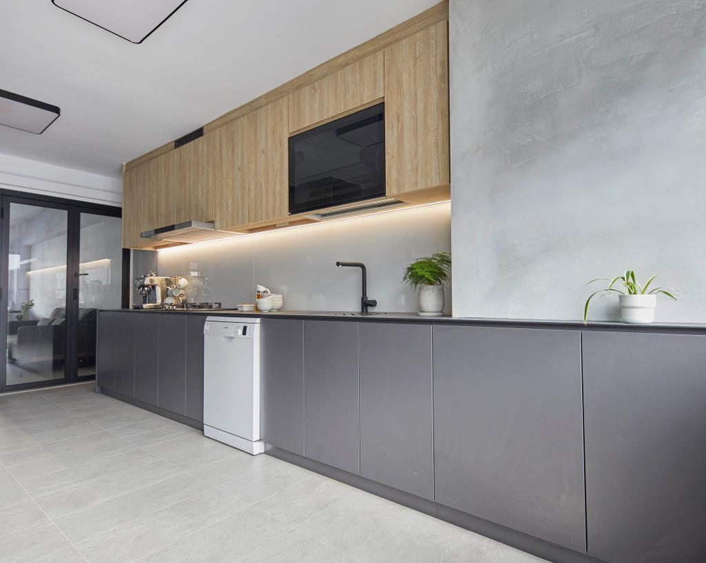 Contemporary, HDB, Kitchen, Geylang Bahru, Interior Designer, The Interior Lab, Scandinavian