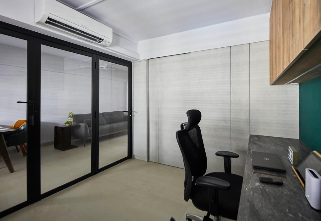 Contemporary, HDB, Study, Geylang Bahru, Interior Designer, The Interior Lab, Scandinavian