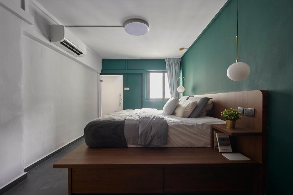 Contemporary, HDB, Bedroom, Geylang Bahru, Interior Designer, The Interior Lab, Scandinavian