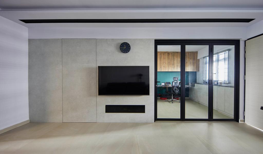 Contemporary, HDB, Living Room, Geylang Bahru, Interior Designer, The Interior Lab, Scandinavian