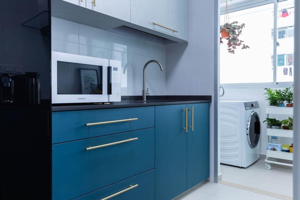 Contemporary, HDB, Kitchen, Henderson Road, Interior Designer, ELPIS Interior Design