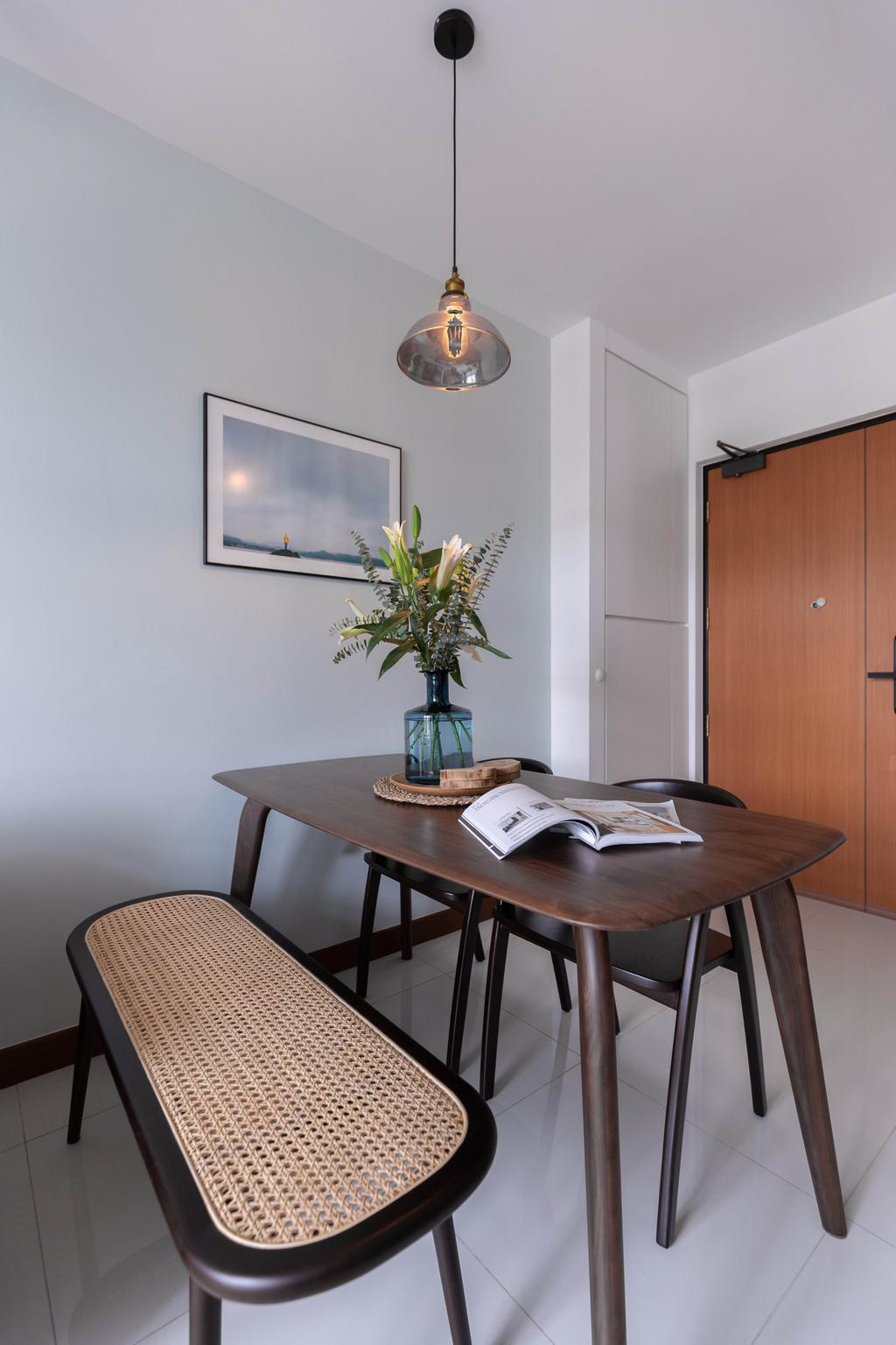 Contemporary, HDB, Dining Room, Henderson Road, Interior Designer, ELPIS Interior Design
