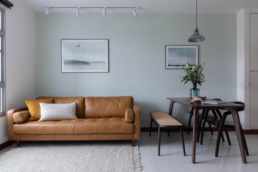 Contemporary, HDB, Living Room, Henderson Road, Interior Designer, ELPIS Interior Design