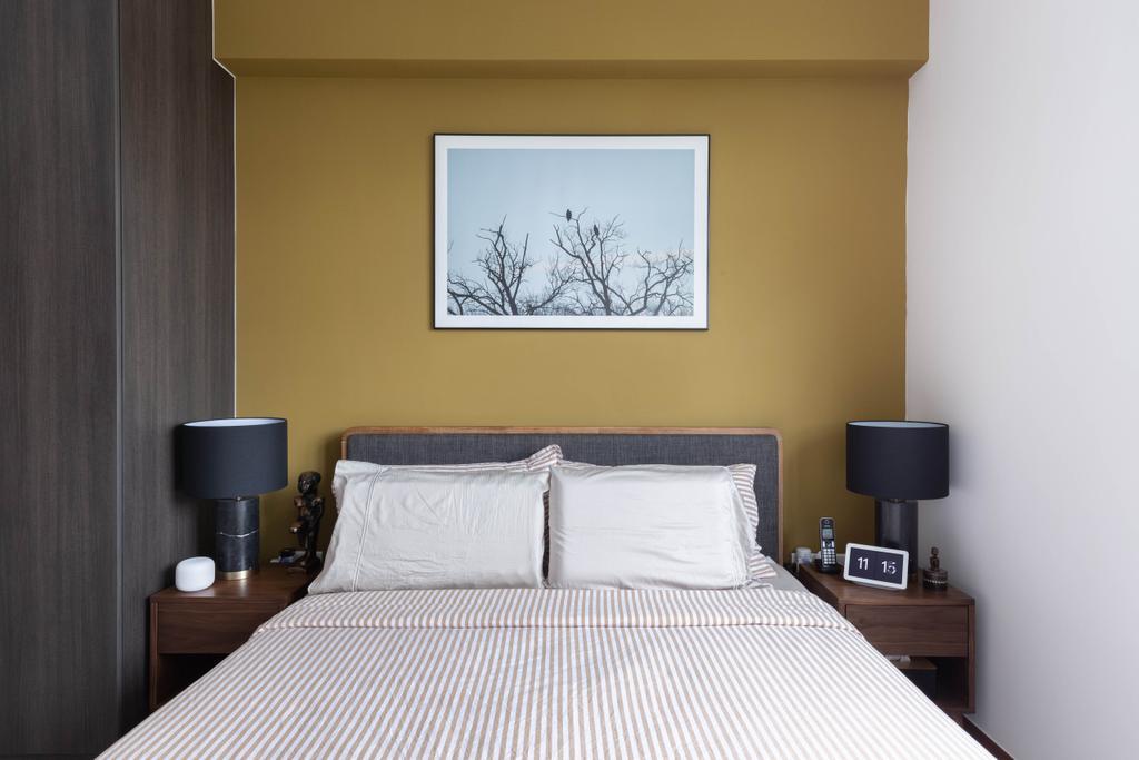 Contemporary, HDB, Bedroom, Henderson Road, Interior Designer, ELPIS Interior Design