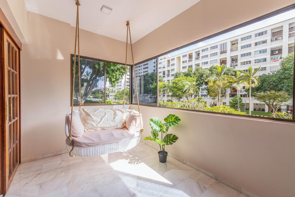 Transitional, Condo, Balcony, Windy Heights, Interior Designer, Livspace