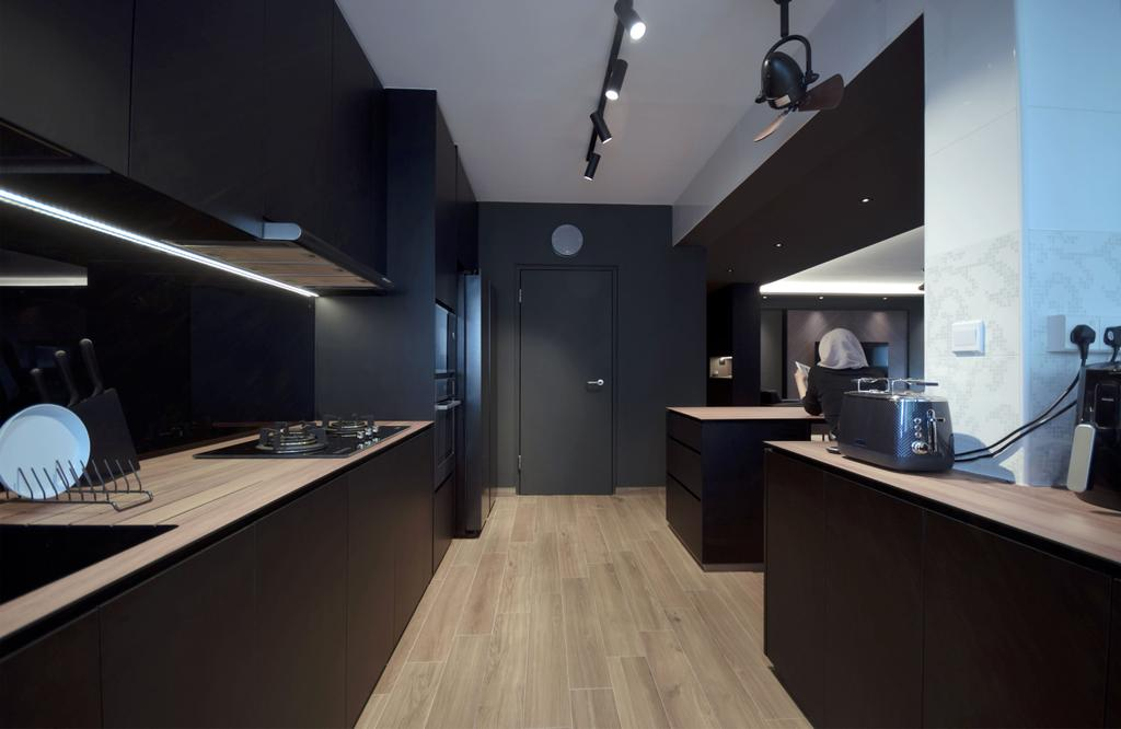 Contemporary, HDB, Kitchen, Keat Hong Lane, Interior Designer, Juz Interior