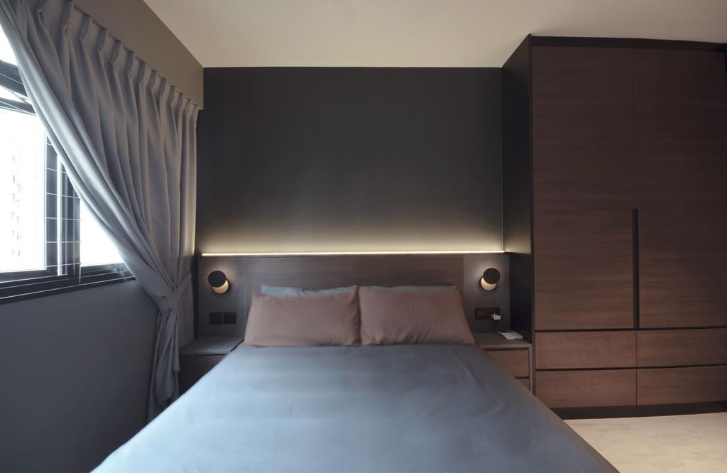 Contemporary, HDB, Bedroom, Keat Hong Lane, Interior Designer, Juz Interior