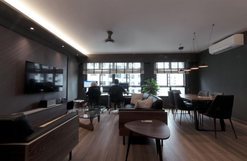 Contemporary, HDB, Living Room, Keat Hong Lane, Interior Designer, Juz Interior