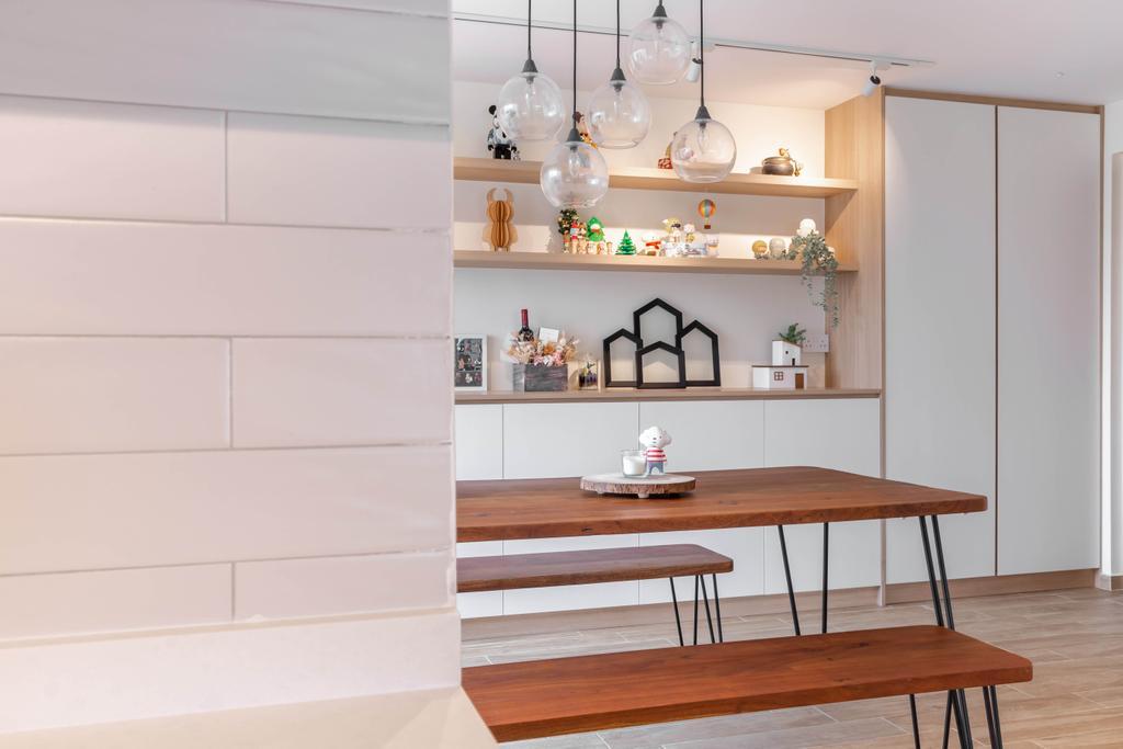 Modern, HDB, Dining Room, Bishan Street 23, Interior Designer, The Design Practice, Scandinavian