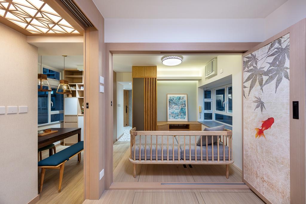 簡約, 私家樓, 客廳, 海灣花園, 室內設計師, am PLUS, 當代