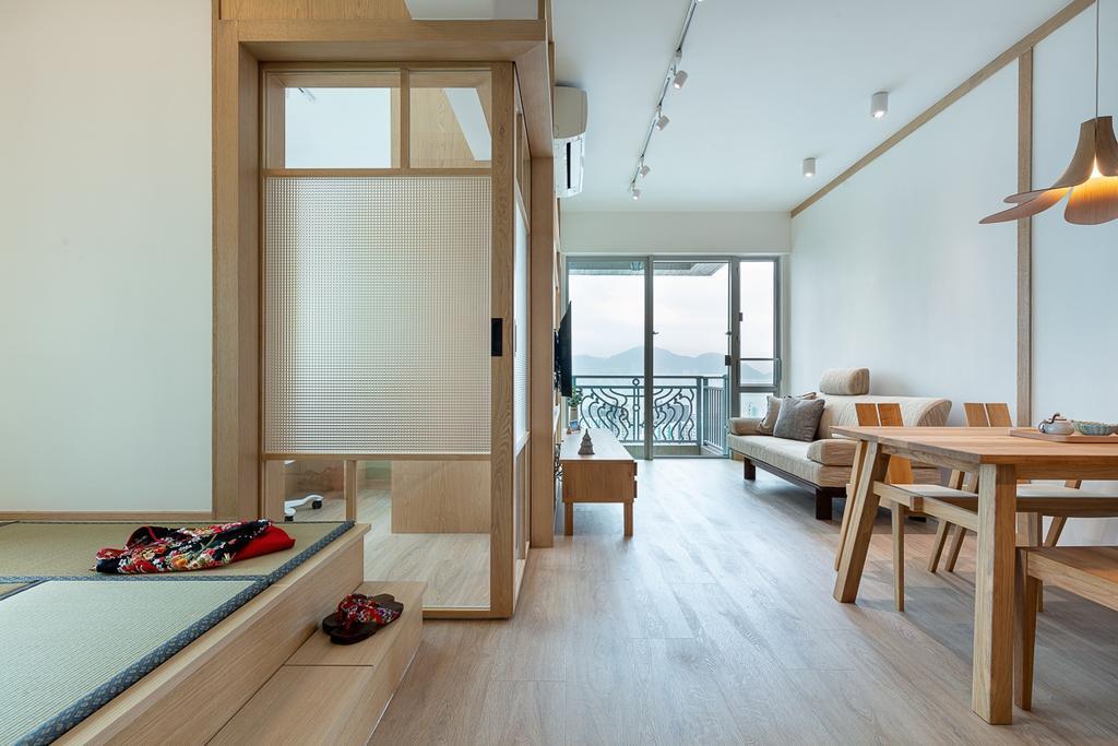 簡約, 私家樓, 飯廳, 宇晴軒, 室內設計師, am PLUS, 北歐