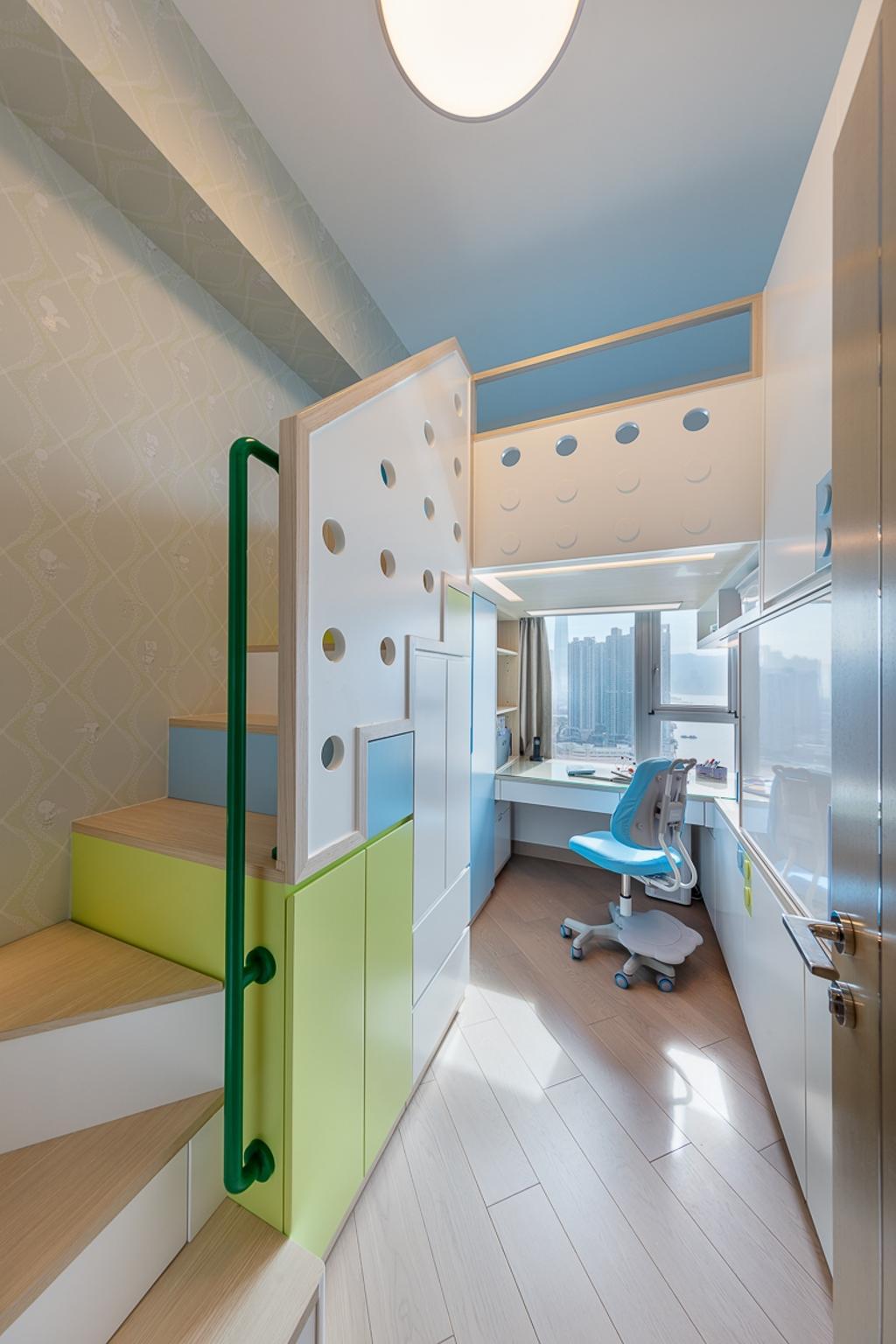 摩登, 私家樓, 睡房, 匯璽, 室內設計師, am PLUS