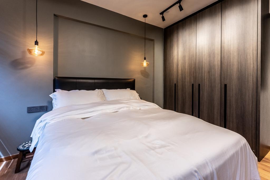Contemporary, HDB, Bedroom, Yishun Avenue 1, Interior Designer, Luova Project Services