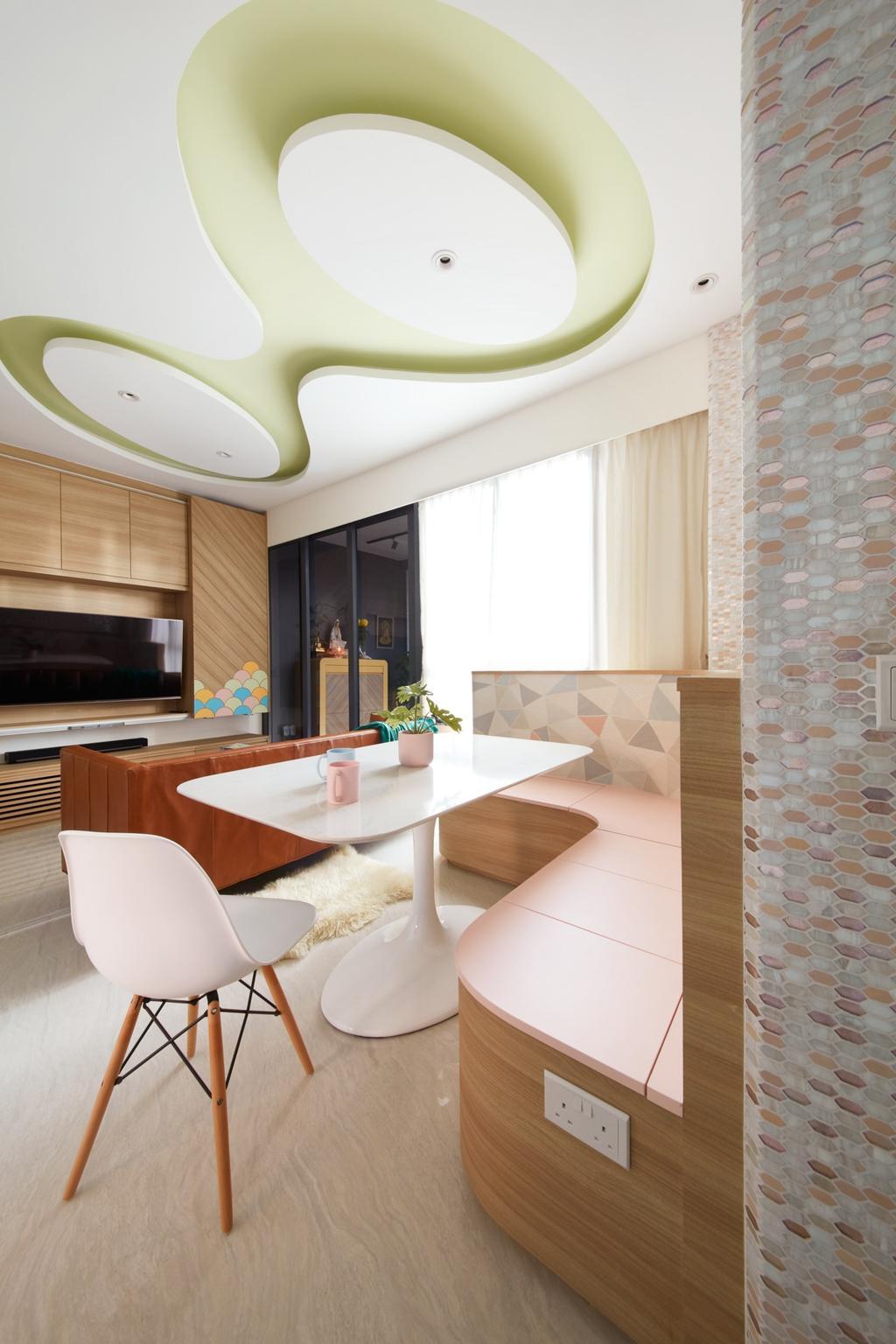 Contemporary, Condo, Dining Room, Gem Residences, Interior Designer, Free Space Intent