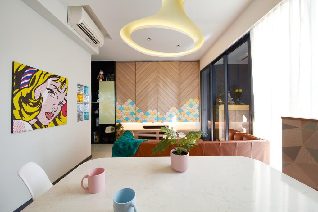 Contemporary, Condo, Gem Residences, Interior Designer, Free Space Intent