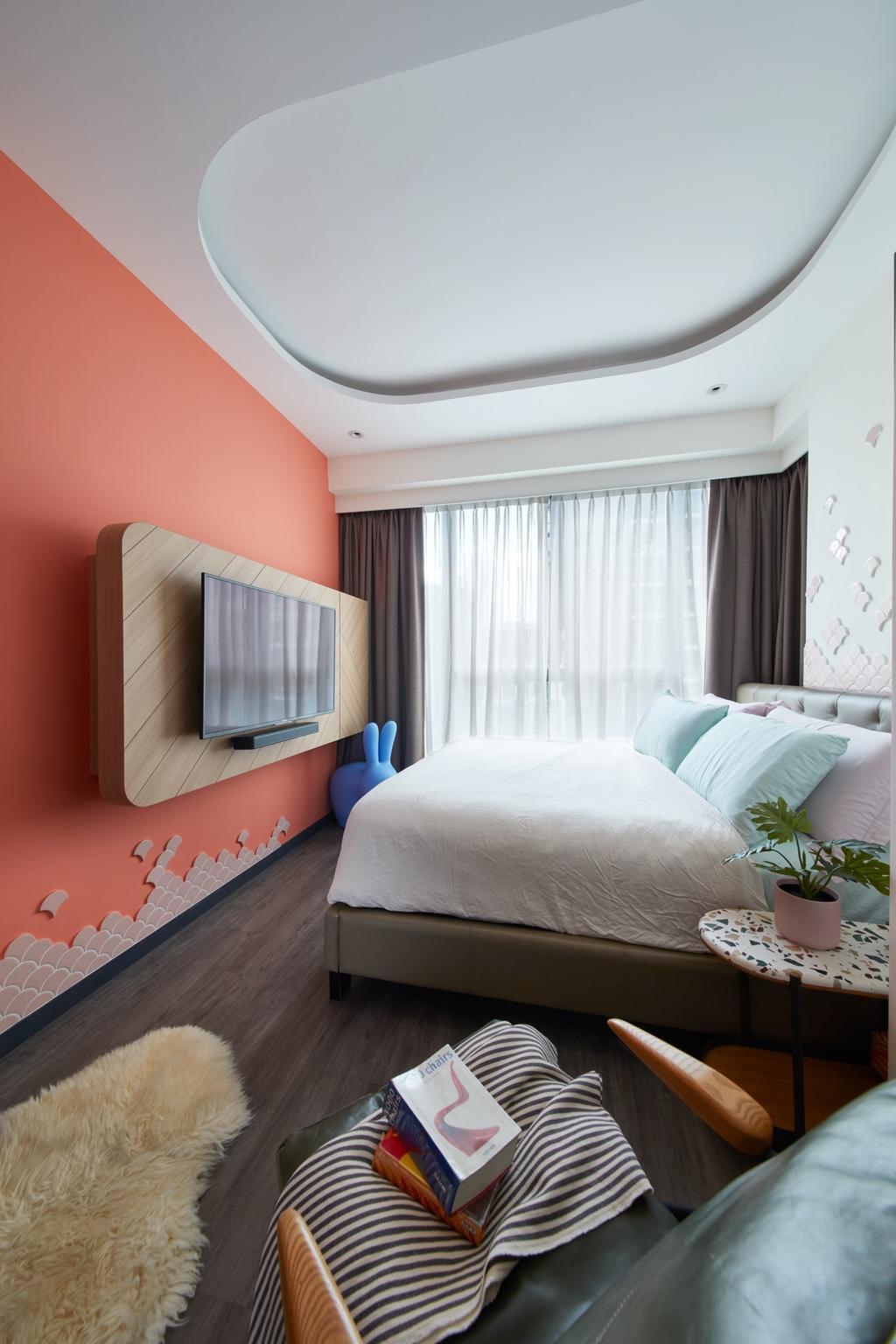 Contemporary, Condo, Bedroom, Gem Residences, Interior Designer, Free Space Intent