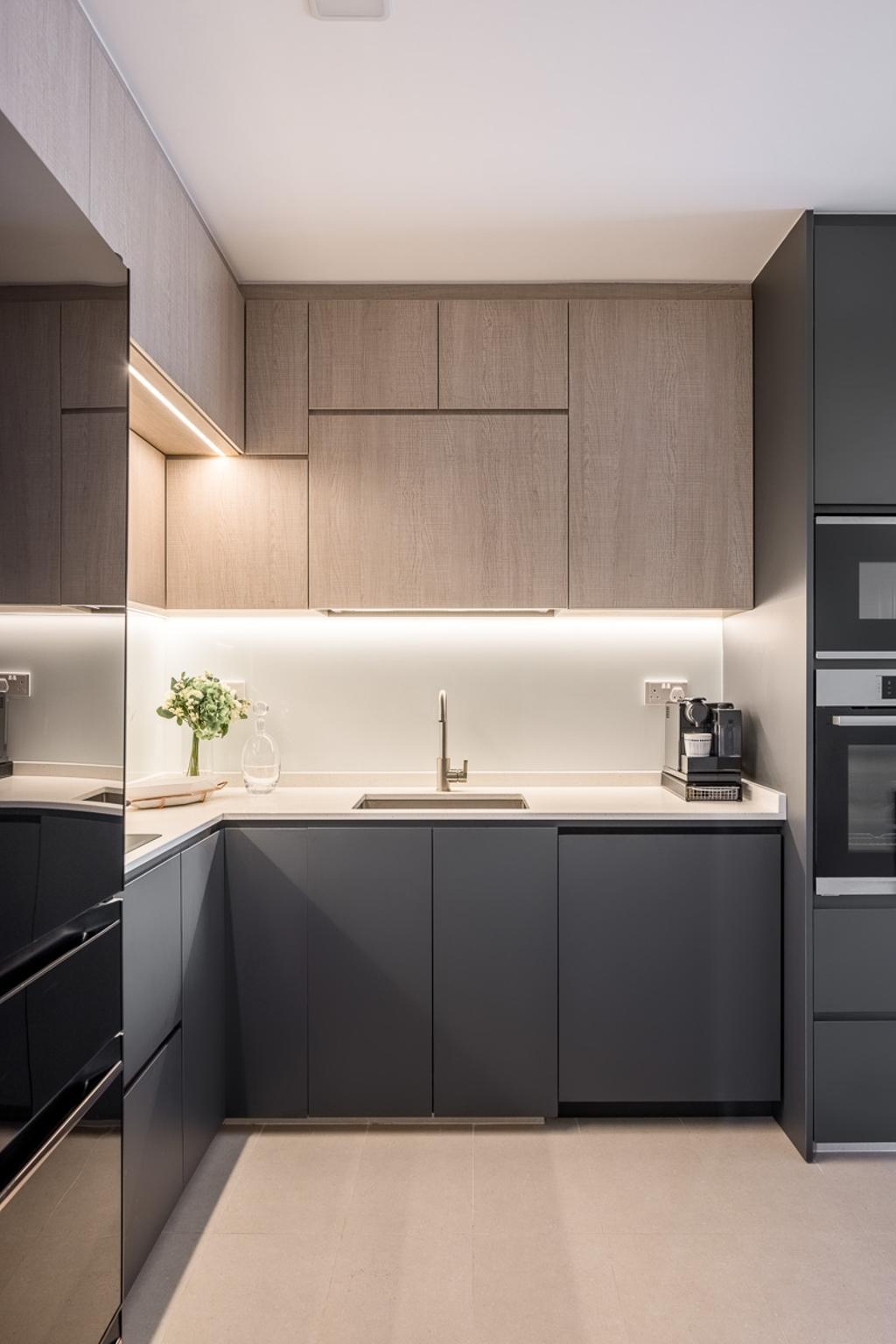 Contemporary, HDB, Kitchen, Dover Parkview, Interior Designer, Anhans Interior Design