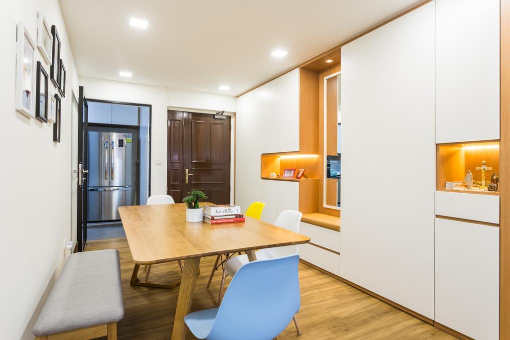 Modern, HDB, Dining Room, Redhill, Interior Designer, Ataz Haus Interior Design, Contemporary