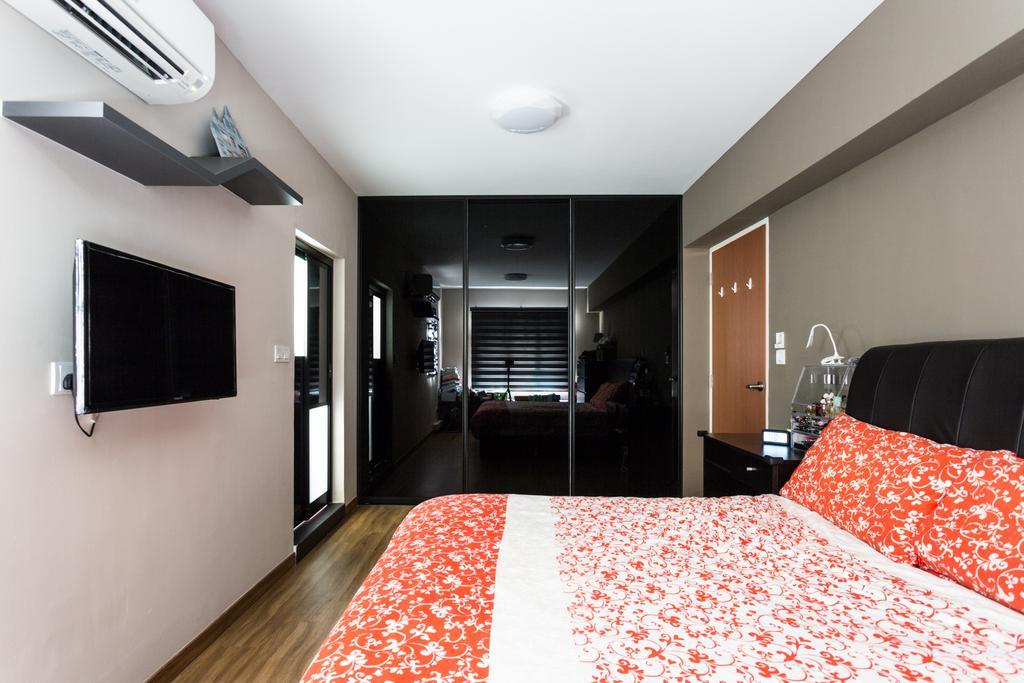 Modern, HDB, Bedroom, Redhill, Interior Designer, Ataz Haus Interior Design, Contemporary