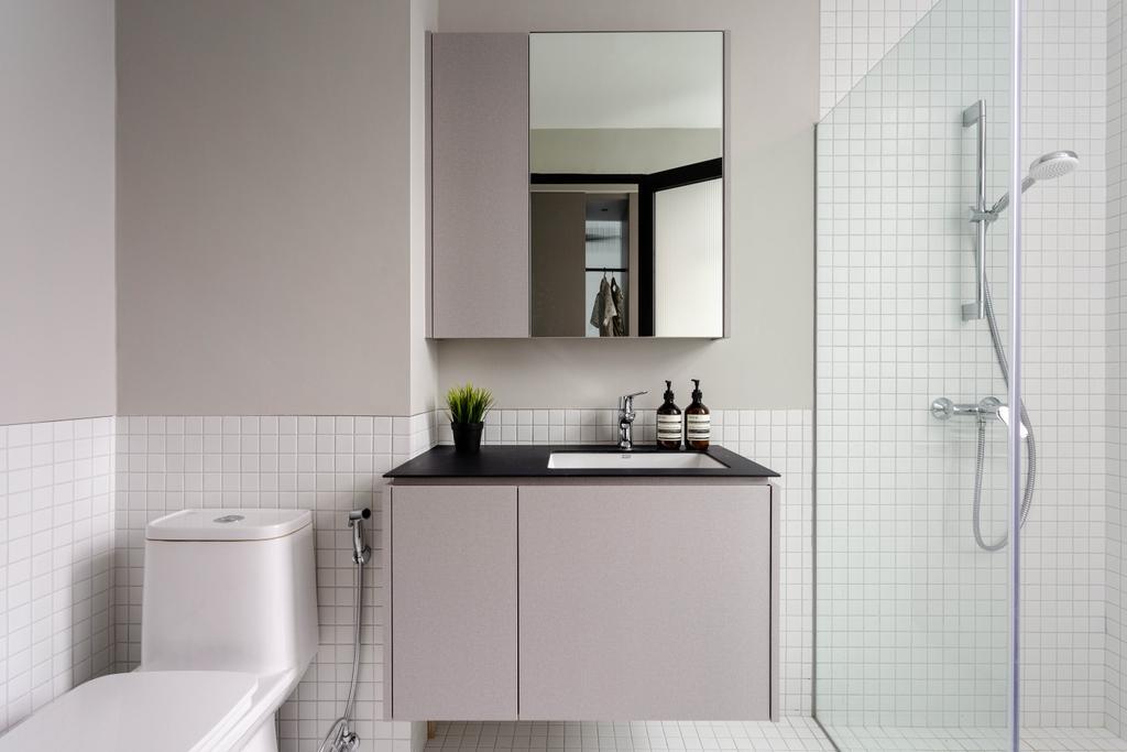 Modern, Landed, Kitchen, Wolskel Road, Interior Designer, Habit, Contemporary